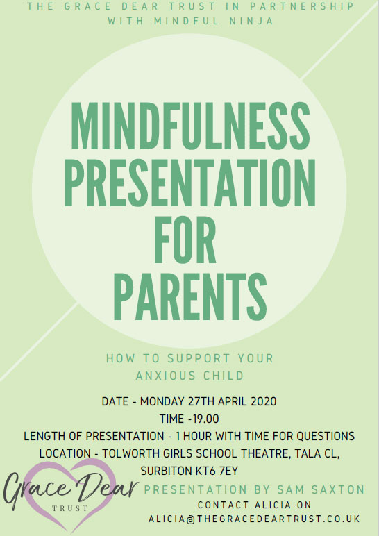 Mindfulness Presentation How to support your anxious child 2