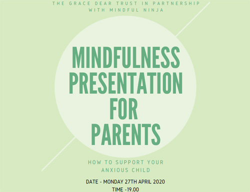 Mindfulness Presentation: 'How to support your anxious child' 27th April 2020